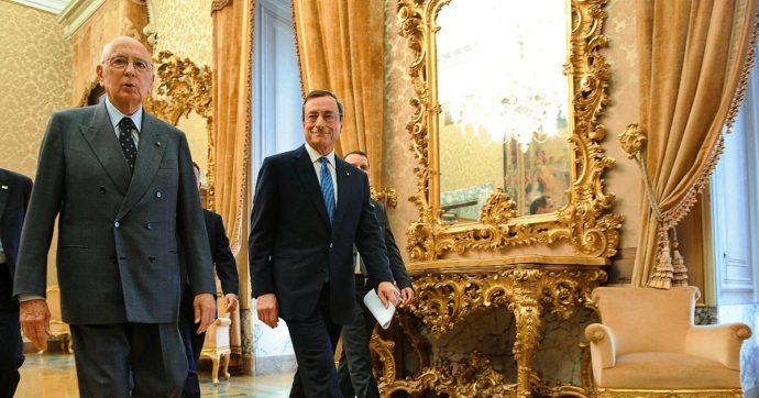 """Governo Draghi, la fiducia a distanza di Napolitano: """"Non sarò in aula per ragioni di salute, ma voglio esprimere il mio sostegno"""""""