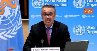 """Coronavirus, OMS: """"Dall'inizio del 2021, i casi in tutto il mondo si sono dimezzati. Questo è l'effetto delle misure"""