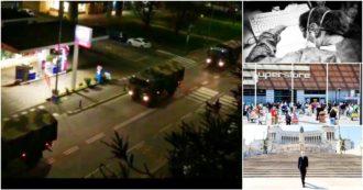 Un anno di Covid in 30 foto simbolo: da Codogno alle bare di Bergamo sui camion dell'Esercito fino al Papa a piedi nel centro di Roma