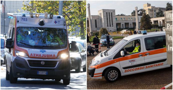 """Lombardia, sulle ambulanze due operatori anziché tre: sindacati in rivolta contro la Regione. """"A rischio sicurezza e posti di lavoro"""""""