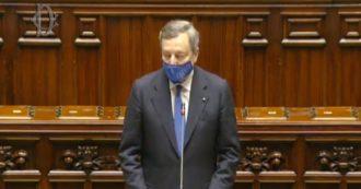 Consiglio europeo, l'intervento di Draghi alla Camera e il dibattito: la diretta