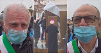 """Codogno, inaugurato il Memoriale per le vittime. I sindaci: """"Le persone sono stremate ma non è finita, bisogna stringere i denti"""""""