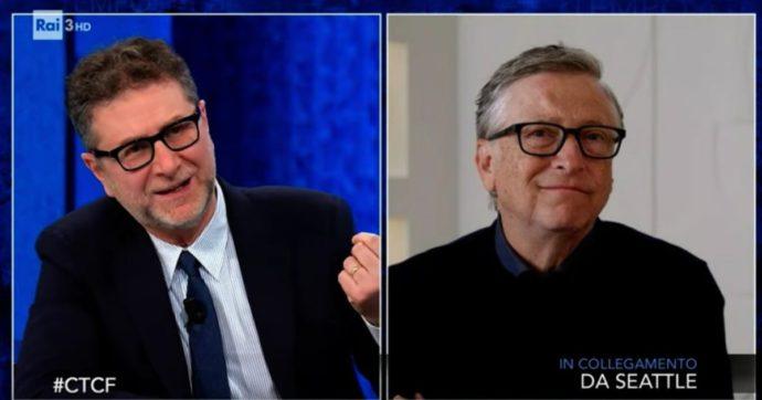 """Che Tempo Che Fa, Bill Gates: """"Non mi candiderò alla Casa Bianca. Non credo che sia il miglior uso delle cose che so fare"""""""