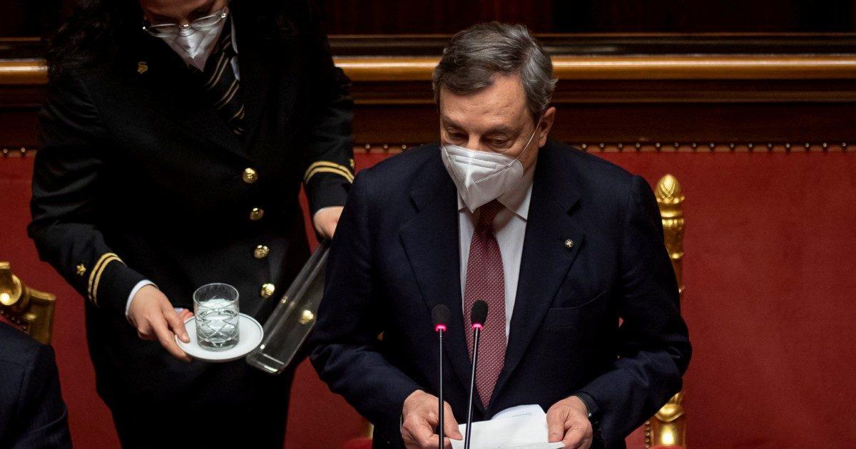 """Draghi, un  uomo """"concreto""""? Non dice nulla e piace a tutti"""