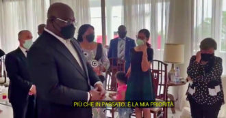"""Luca Attanasio, il presidente Tshisekedi fa visita alla moglie dell'ambasciatore ucciso: """"Pace nel Paese è priorità, oggi più che in passato"""""""