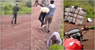 """""""Eccoli, si tolgono le divise e mettono quelle dei poliziotti"""": la traduzione del video diffuso dopo l'agguato all'ambasciatore in Congo"""