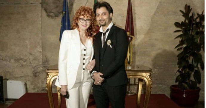 Fiorella Mannoia si è sposata con Carlo Di Francesco: la foto del matrimonio