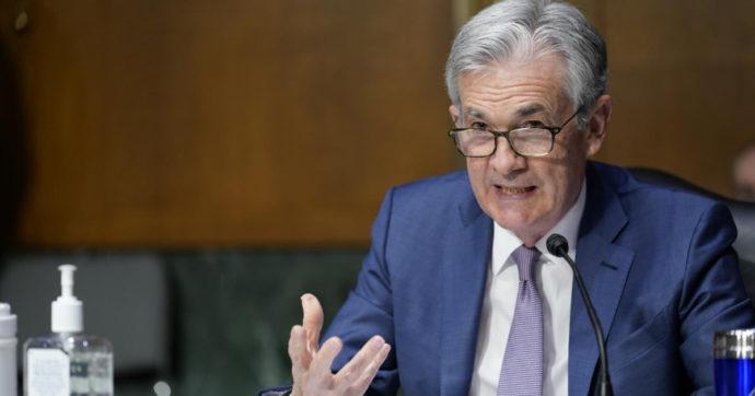 """Powell (Fed): """"Economia verso condizioni di normalità già nel 2021. Inflazione non preoccupa, tassi non saliranno"""""""