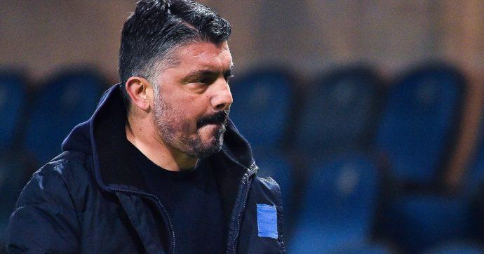 """Gennaro Gattuso, nuove voci di un esonero: """"De Laurentiis ha già pronta la lista dei possibili sostituti"""""""