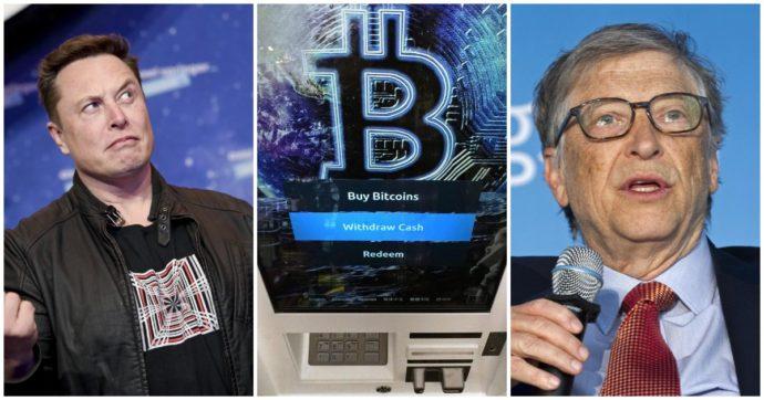 "Bill Gates avverte: ""Se avete meno soldi di Elon Musk evitate i Bitcoin"""
