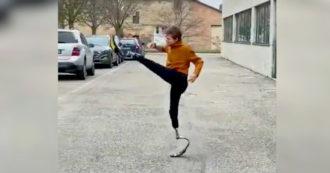 """Bebe Vio entusiasta delle nuove protesi: """"Posso iniziare a fare taekwondo"""" – Video"""