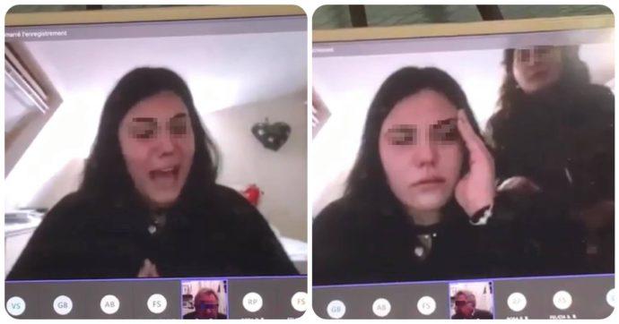"""Professore furioso contro la studentessa durante l'esame via web: """"T'hannà arrestà"""". Interviene la madre della ragazza"""