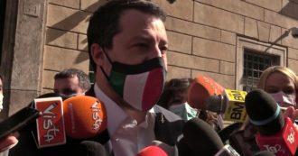 """Covid, Salvini: """"Parlare già oggi di una Pasqua chiusi in casa mi sembra irrispettoso per gli italiani"""""""