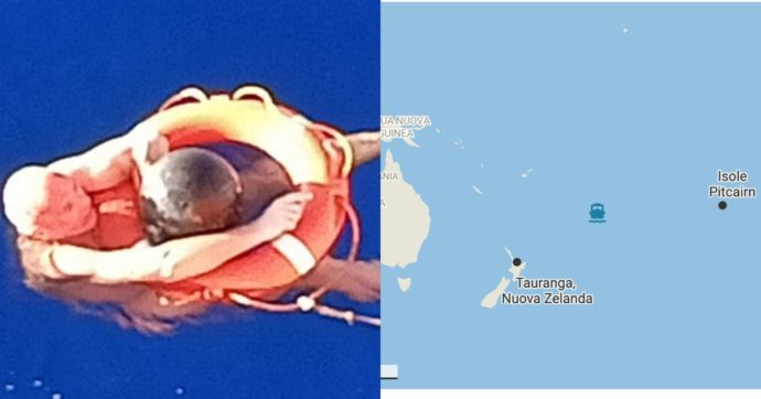Cade dalla nave e sopravvive per oltre 14 ore aggrappato a una boa in mezzo all'oceano Pacifico: l'incredibile storia