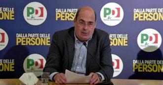 """Pd, Zingaretti: """"Dobbiamo costruire alleanze intorno ai nostri contenuti e non ridurci a sola forza di testimonianza"""""""
