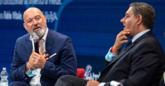 """Covid, Bonaccini: """"Inizia la terza ondata"""". Toti rompe il fronte della concordia su Draghi: """"Solo chiusure? Non c'è cambio di passo"""""""