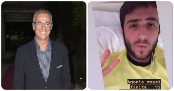 """Massimo Ghini, lo sfogo: """"Sono arrivati a dire che ho raccontato l'odissea di mio figlio con il Covid per pubblicità"""""""