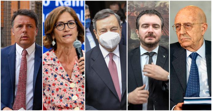 """Quando c'era Conte i dpcm erano un """"golpe giuridico"""". Ora li firma anche Draghi e Forza Italia, Lega, renziani tacciono"""