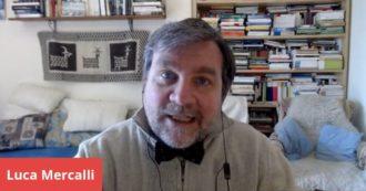 """Luca Mercalli a Fq Millennium Live: """"Lontani dalle città siamo più soli? Piccoli borghi non sono fuori dal mondo e c'è un altro tipo di socialità"""""""