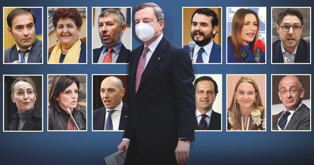 """Nel """"sottogoverno dei migliori"""" i cani da guardia di B. e Salvini"""