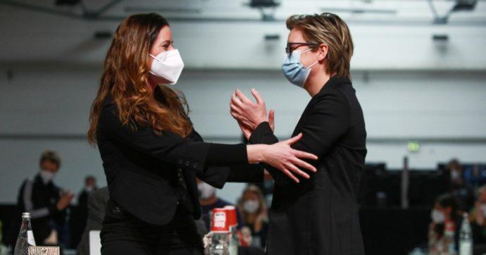 Due donne elette al vertice di Die Linke, il partito della sinistra in Germania