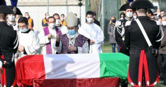 """Attanasio, i funerali a Limbiate. Il vescovo di Milano: """"In Congo lo sentivano un alleato"""". Il carabiniere Iacovacci gli ha fatto da scudo"""