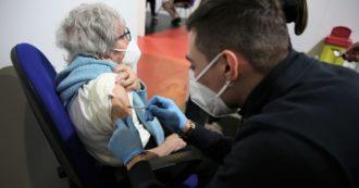 """Covid, report Iss: """"Da metà gennaio trend dei casi in calo tra i sanitari e gli over 80. È l'effetto della campagna di vaccinazione"""""""