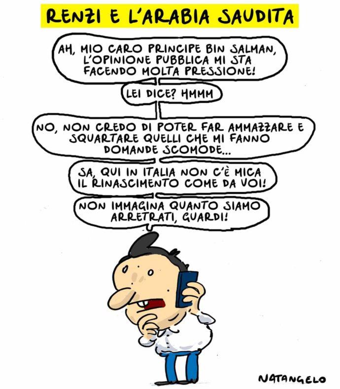 Le domande a Renzi