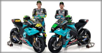 """Ecco la Yamaha Petronas di Valentino Rossi e Franco Morbidelli per il 2021 [Foto]. Il Dottore: """"Voglio lottare per vincere gare"""""""