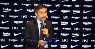 """Barçagate, arrestati l'ex presidente Bartomeu e altri tre dirigenti: """"Creato un sistema di diffamazione sui social contro i critici"""""""