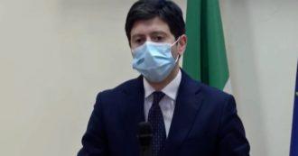 """Covid, Speranza: """"Curva dei contagi risale in maniera significativa in tutte le regioni. Le prossime settimane non saranno facili"""""""