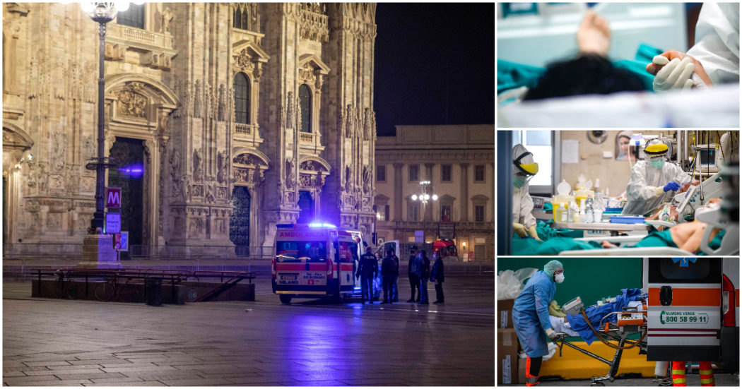 """Lombardia, la grande paura per Milano e l'allarme dalle terapie intensive: """"Con la variante inglese più pazienti tra i 40 e i 60 anni"""""""