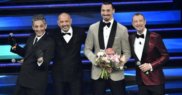Sanremo 2021, le pagelle della terza serata: durata da sequestro di persona, Sinisa Mihajlovic che passa i fiori a Ibra voto 4