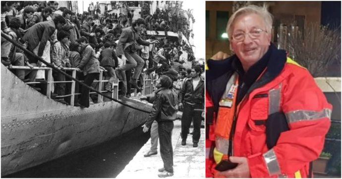 """Brindisi, 30 anni fa l'arrivo di 27mila albanesi in 24 ore. La storia di Pjerin: """"La città ci salvò, ora da medico restituisco quel che ho avuto"""""""