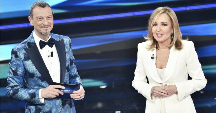 """Sanremo 2021, il monologo di Barbara Palombelli massacrato dalle critiche: """"E chi sarebbero le 'vere donne'""""? """"Perbenismo becero"""""""
