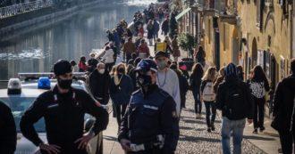 Milano, troppe persone in Darsena e lungo i Navigli: la polizia blocca i punti di accesso