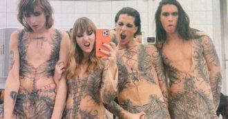 """Maneskin vincono Sanremo 2021: dal corsetto al """"nudo"""", ecco tutti i look iconici che hanno sfoggiato al Festival – FOTO"""