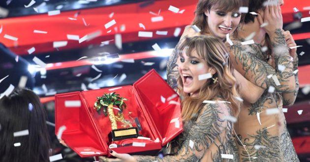 Sanremo 2021, vincono i Maneskin a sorpresa, secondi Fedez e Francesca Michielin. Ecco la classifica completa  – FOTO e VIDEO