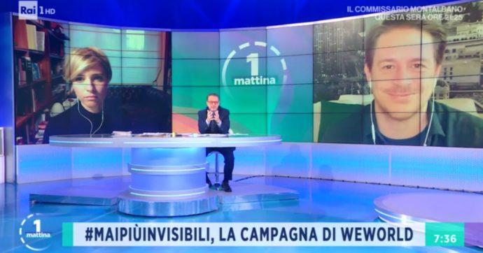 """""""Ho avuto contatti con una persona positiva al Covid"""": Monica Giandotti conduce Unomattina in collegamento da casa"""