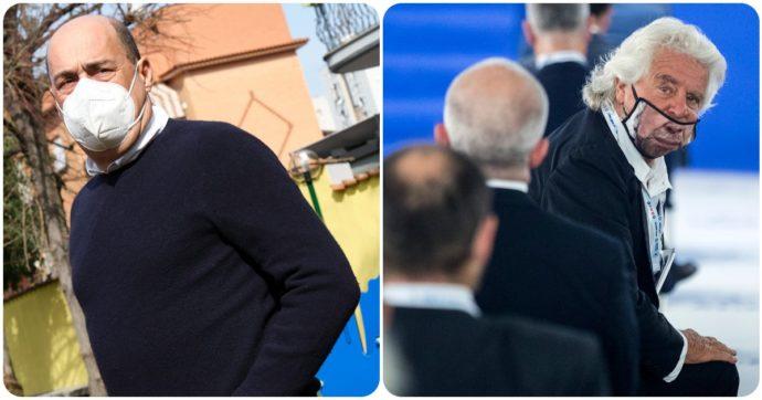 Zingaretti lascia, Grillo provoca: per me dietro c'è qualcosa che non si ha la forza di dire