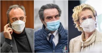 Dalla mancata chiusura di Alzano alle lentezze sui vaccini: un anno di errori di Regione Lombardia nella gestione del Covid. E molte gaffe