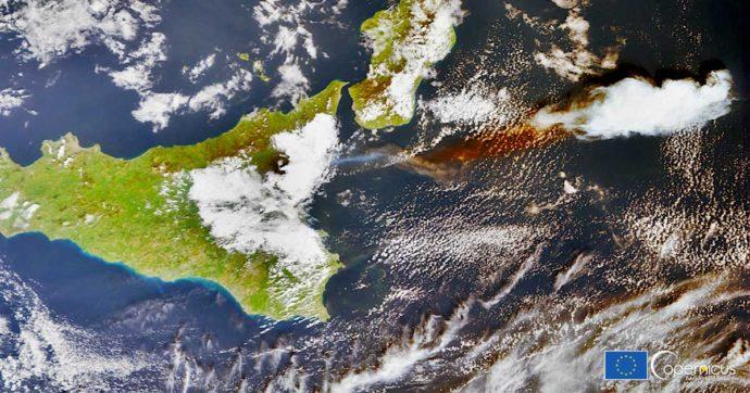 Etna, la nube del vulcano è arrivata fino in Cina. Le immagini immortalate dai satelliti