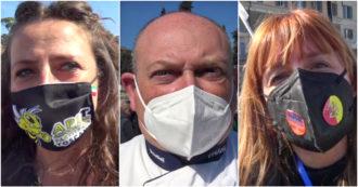 """""""Dimenticati da stampa e politica da quando è nato il governo Draghi"""": la protesta di partite Iva e ristoratori a Roma – Video"""