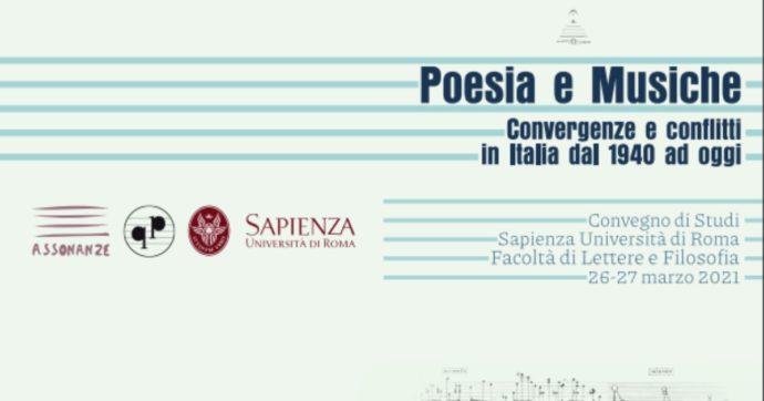 Poesia e Musiche, a Roma si discute di convergenze e conflitti tra le due arti