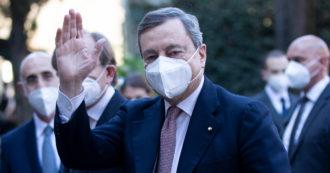 """Draghi: """"Settore pubblico efficiente fondamentale per società. Nuovi investimenti e più formazione"""""""