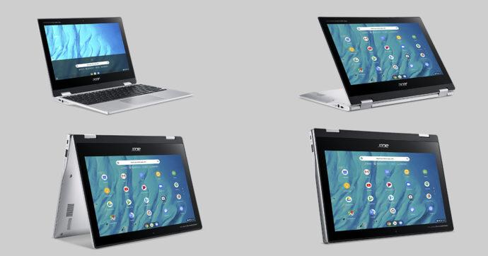 Acer Chromebook Spin 311: un'ottima alternativa a notebook e tablet per casa e per studiare