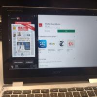 App Android modalità notebook