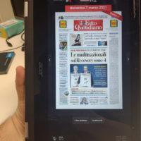 App Android modalità Tablet