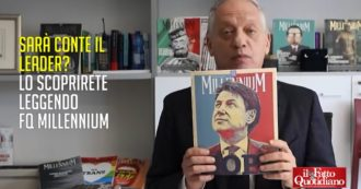 """Fq Millennium, Peter Gomez presenta il nuovo numero: """"Sarà Conte il leader che è sempre mancato alla sinistra?"""". In edicola dal 13 marzo"""