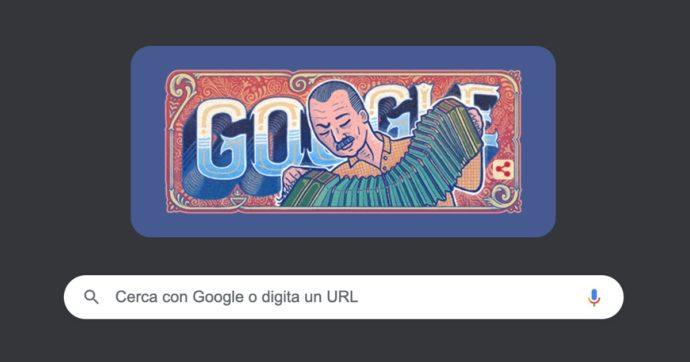 Doodle di Google oggi è dedicato a Astor Piazzolla: ecco chi è